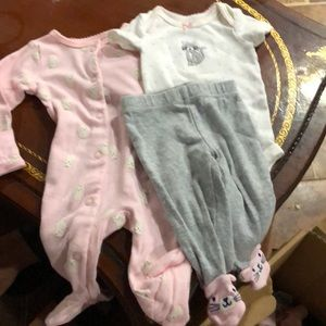 Baby girl pj set